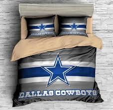 Dallas Cowboy Bathroom Set Dallas Cowboys Duvet Cover Set Sport Duvet Cover Set Pinterest
