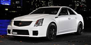2012 cadillac cts v price 2012 cadillac cts v with satin white wrap by camshaft 23