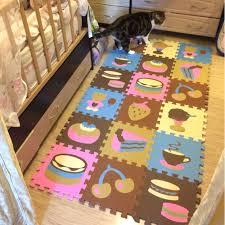 tappeti puzzle shop 18 pz modello animale fumetto tappeto di schiuma