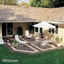 Outside Tile For Patio Patio With Interlocking Deck Tiles Gray On Grass Google Search