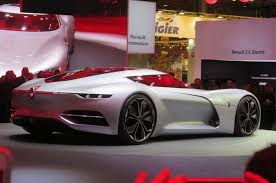 renault trezor paris 2016 the incredible electric renault trezor concept