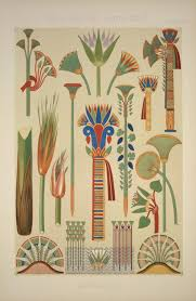 no 1 the lotus and papyrus types of ornament