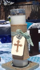 centerpieces for baptism new amazing baptism candle decoration ideas 7 32365