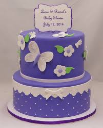 lavender baby shower lavender white butterfly baby shower cake cake in cup ny