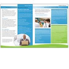 brochure design software print design contests aquilon software brochure design no 16