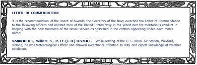 Letter Of Commendation File Letter Of Commendation Fro The Secretary Of The Navy Joseph
