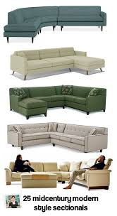 Retro Sectional Sofas 30 Stylish Sofa Sectionals Available Today Retro Renovation