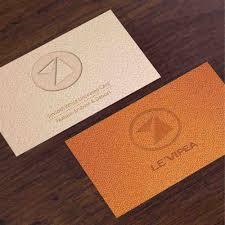 luxury business card embossed debossed print graphtype com