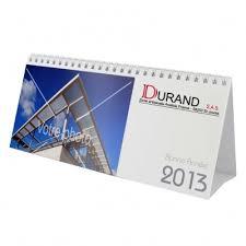 chevalet de bureau personnalisé calendrier chevalet personnalisable