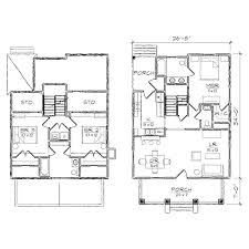 brookestone ii bungalow floor plan tightlines designs