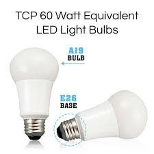 Type G Led Light Bulb by Tcp 60w Equivalent Led Light Bulbs Non Dimmable Soft White 2700k