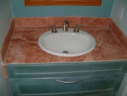 bathroom tile countertop ideas travertine bathroom countertops bathroom design ideas