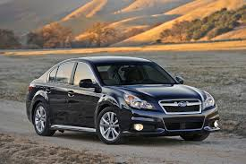 2014 subaru legacy reviews and rating motor trend