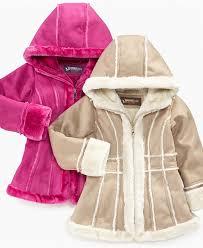 hawke co kids jacket girls faux shearling coats kids jackets