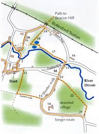 Ncc Map Bottesford Local History Trail Discovering Bottesford Village