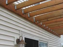 How To Build Your Own Pergola by Transform Any Outdoor Space With A Simple Wall Leaning Pergola
