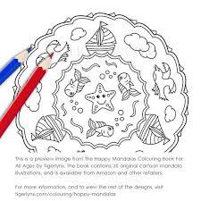 happy mandalas colouring book