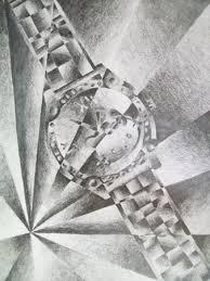 shattered images futurism cubism tonal value still life