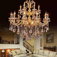 Chandelier Parts Crystal Aliexpress Com Buy Gold Crystal Chandelier Modern Gold