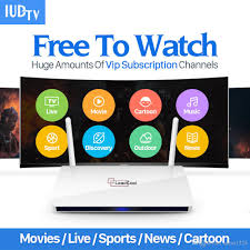 iptv streaming box leadcool android wifi 1g 8g include 1700 italy