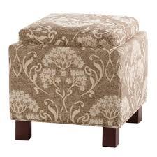 Fabric Storage Ottoman by Amazon Com Madison Park Fpf18 0178 Shelley Square Storage Ottoman