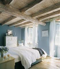 rustic wooden ceiling with soft blue wall color for relaxing rustic wooden ceiling with soft blue wall color for relaxing bedroom ideas