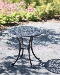 Black Bistro Table Outdoor Bistro Table 30 Inch Round Black Bistro Table
