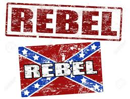 Rebel Flag Picture Grunge Rubber Stamps With Confederate Flag And Rebel Stamp Vector