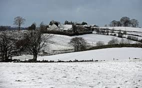 Snow Scotland Mad March Weather Northern To Be Buried 10cm Of