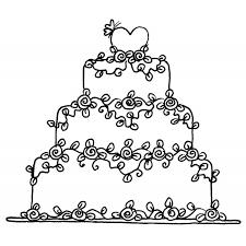 wedding cake drawing wedding cake rubber st