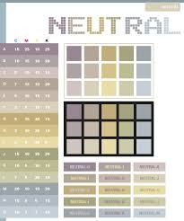 neutral color schemes color combinations color palettes for print