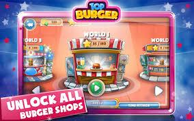jeux chef de cuisine top burger chef jeux de cuisine hamburger applications android