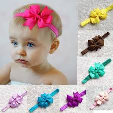 baby hair band baby hair bow headbands ribbon butterfly knot headband