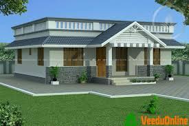Single Floor Kerala Home Design 1150 Sq Ft contemporary design