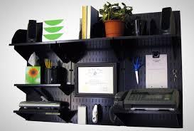 Wall Mounted Desk Organizer Wall Mounted Desk Organizer Storage Black Hooks Workstation Office