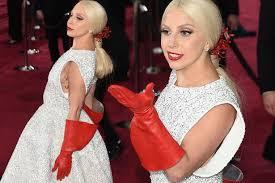 Lady Gaga Meme - lady gaga s red gloves oscar fail get the meme treatment with some