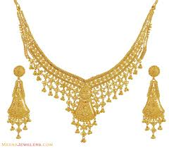 jewelry necklace designs images Gold wedding rings indian gold necklace set designs jpg