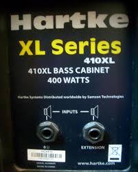 hartke 410xl bass cabinet hartke 410xl image 132458 audiofanzine