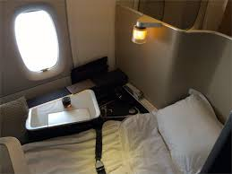 airline review british airways first class on a380 los