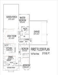 2500 square foot open floor plans