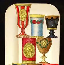 bicchieri boemia piero fornasetti metal tray with the bicchieri di boemia pattern