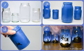 Decorated Jars For Christmas Magical Christmas Lanterns