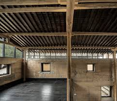chambres d hotes lub駻on gallery of avant garde ruralation library azl architects 6