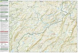Sequoia National Park Map Yosemite Nw Hetch Hetchy Reservoir National Geographic Trails