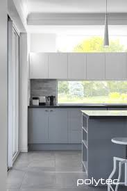 doors in melamine riga zinc finegrain overhead cupboards in