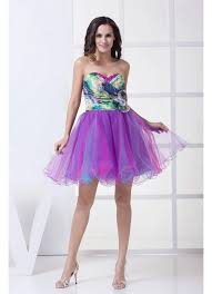 colorful wedding dresses sweetheart printed colorful wedding dress