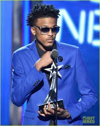 hair like august alsina newcomer august alsina has a big night at bet awards 2014 photo