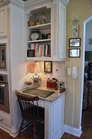 small kitchen desk ideas appealing kitchen desk area and best 25 kitchen office nook ideas