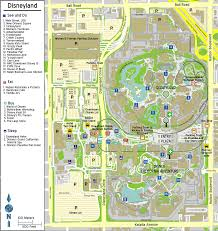 Disney Maps Disneyland Park Map Disneyland Park Map In California Map Of