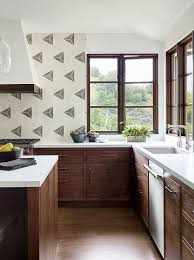 brown kitchen cabinets to white brown oak cabinets with white quartz countertops
